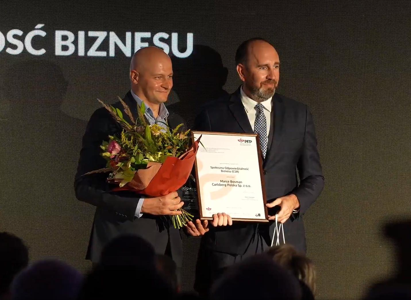 Marka Bosman Szczeciński otrzymała nagrodę
