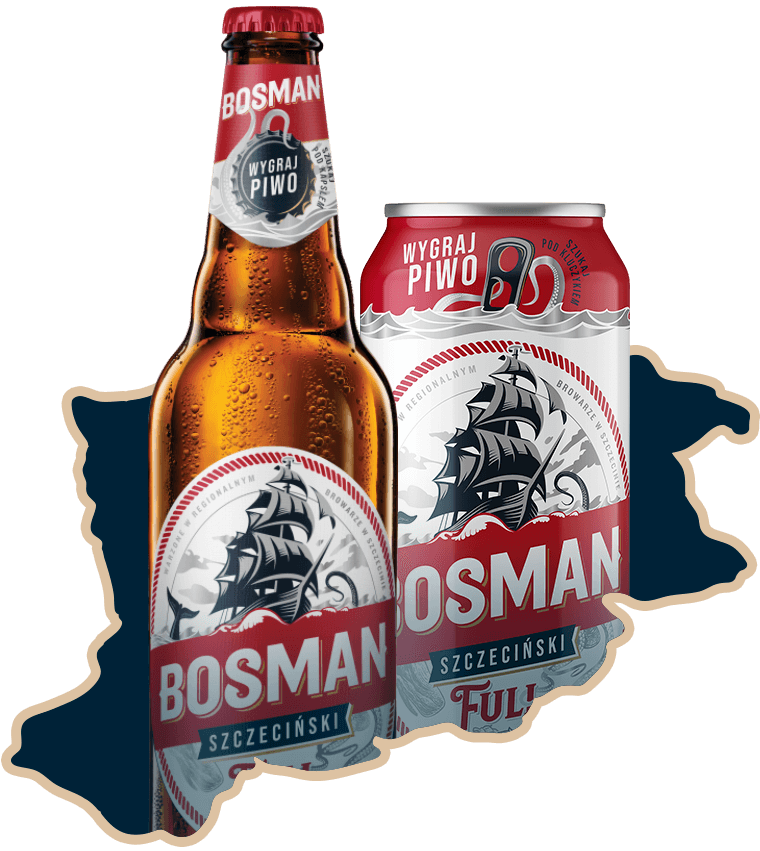 Butelki - Bossman Full Szczeciński