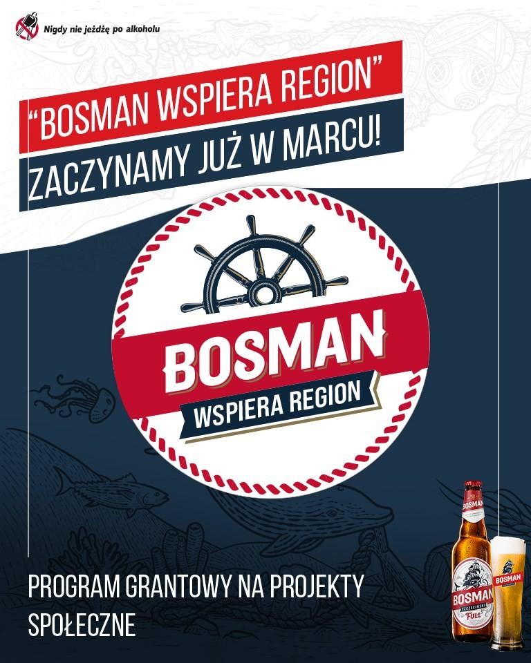 """II edycja programu grantowego """"Bosman Wspiera Region"""""""