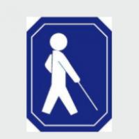 Logo organizacji - Polski Związek Niewidomych Okręg Zachodniopomorski