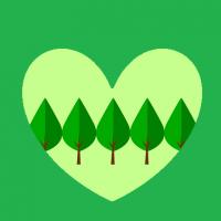 Logo organizacji - Serce Puszczy