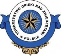 Logo organizacji - Towarzystwo Opieki nad Zwierzętami w Polsce Oddział w Szczecinie