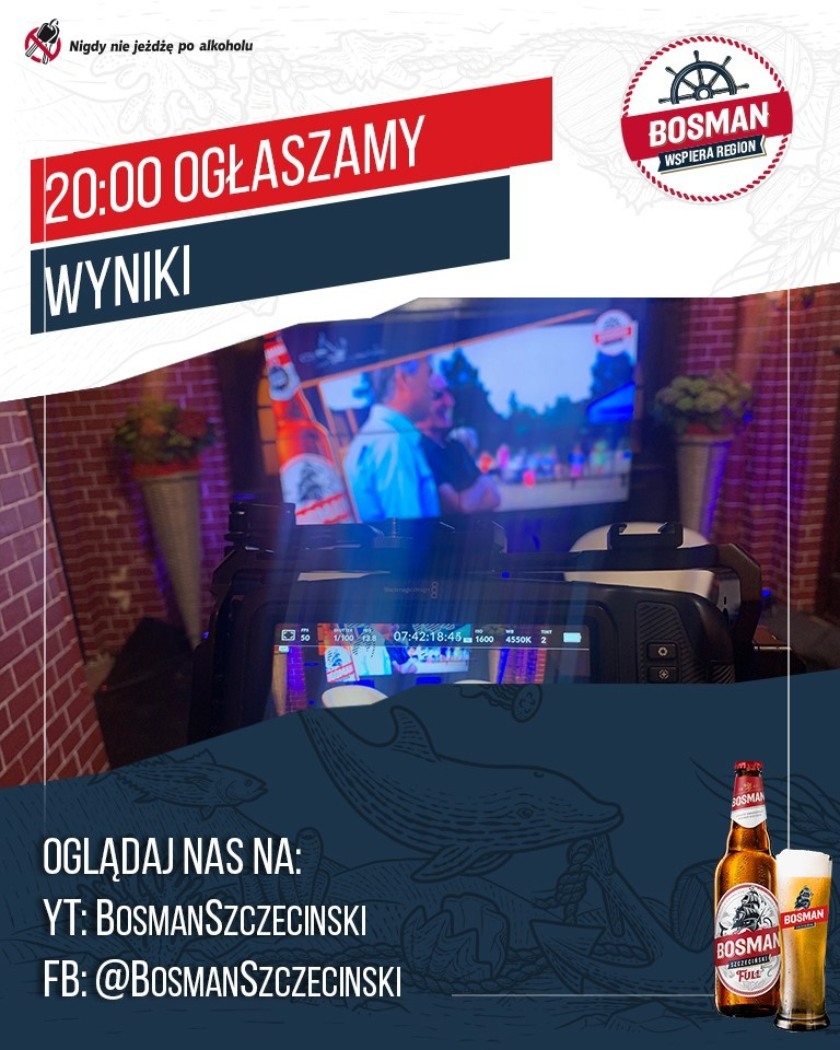 Już dzisiaj o godzinie 20:00 zamieścimy informację na FB i YT oraz portalu wSzczecinie