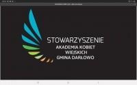 Logo organizacji - Stowarzyszenie Akademia Kobiet Wiejskich Gminy Darłowo