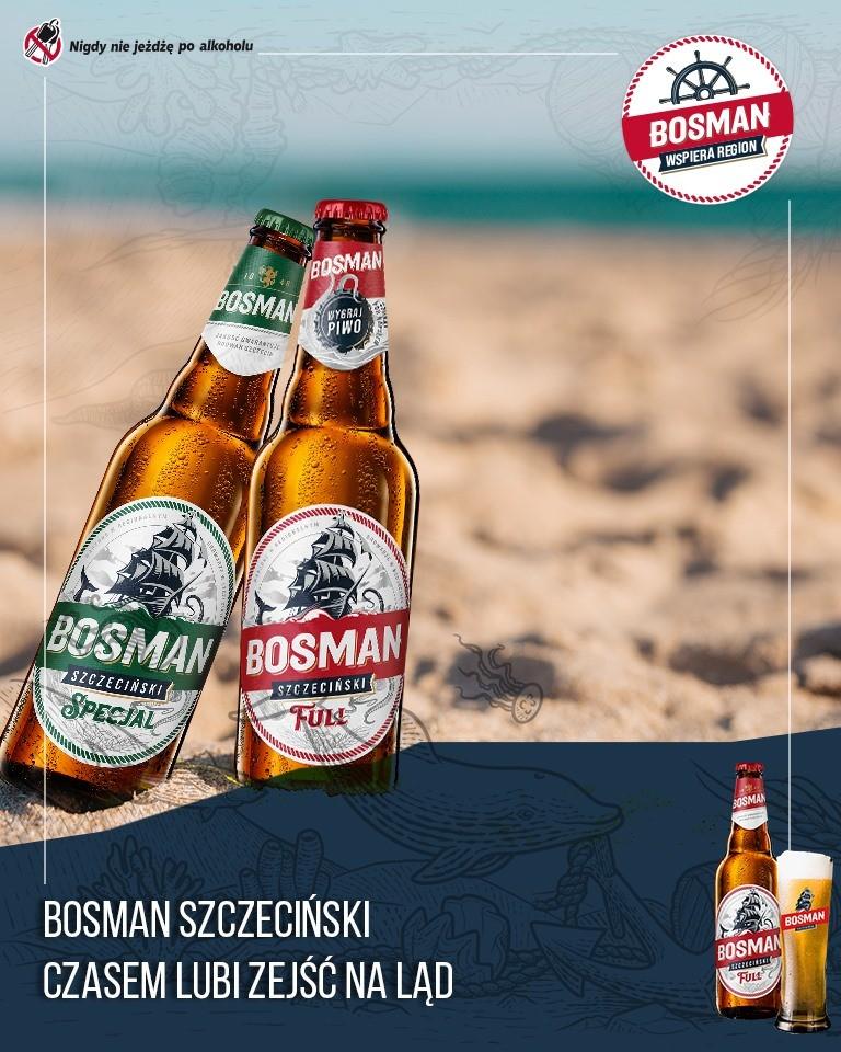 Długi weekend z Bosmanem Szczecińskim