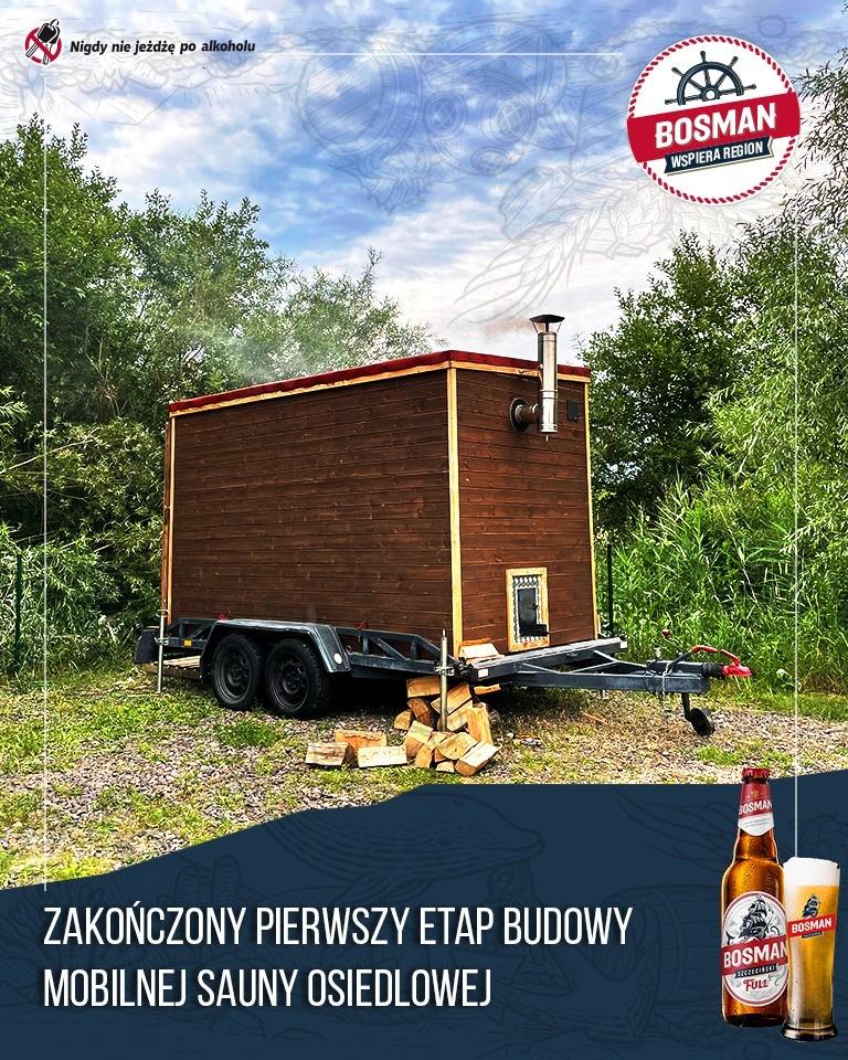 Sauna mobilna dostępna dla ...