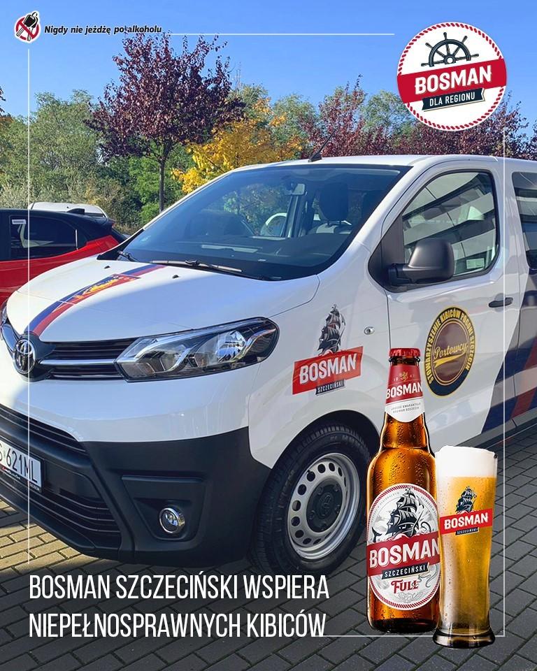 Nowy bus dla niepełnosprawnych kibiców Pogoni.