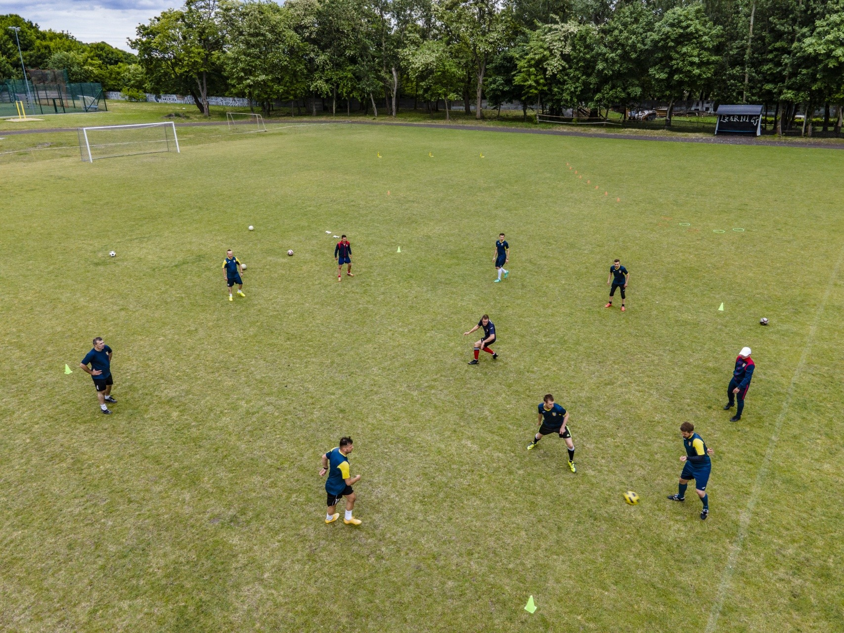 Treningi i przygotowania w Szczeciński Klub Sportowy Głuchych KORONA